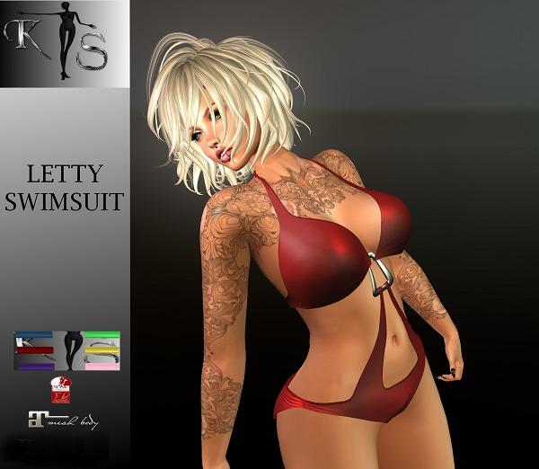 LETTY SWIMSUIT