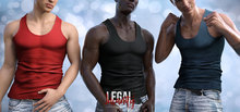 Legal Insanity - Dylan tank top DEMO