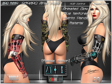 KOHAKU Arms implant (Female)-Shu Mesh-