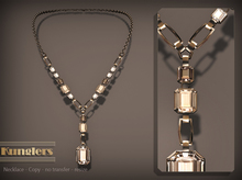 KUNGLERS - Thania necklace - Crystal