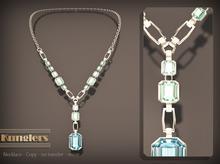 KUNGLERS - Thania necklace - Aquamarine