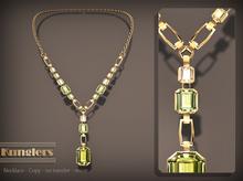KUNGLERS - Thania necklace - Peridot