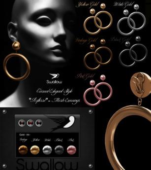 ^^Swallow^^ Riflesso Earrings GIFT
