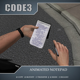 [C3] Animated notepad (box) v1.02