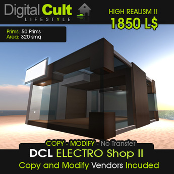 *** DCL The ELECTRO Shop II - Brown Version