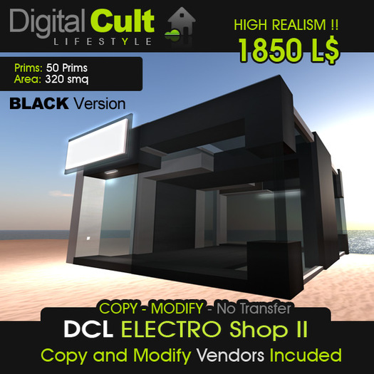 *** DCL The ELECTRO Shop II - Black Version