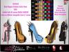 Mesh Elegant and Stylish Gothic Shoes SINA