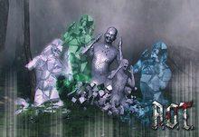R.O.T. - Ghost glass purple blue (box)