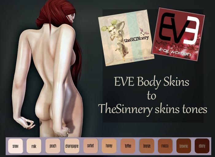 EVE Skin body to TheSkinnery tones