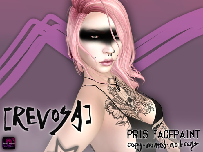 REVOSA Pris Facepaint (with Omega HUD)