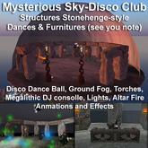 Mysterious Sky-Disco Club auto rez