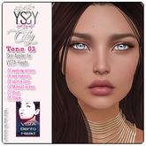 *YS&YS* City Tone 03 Skin Applier for Vista Bento Heads