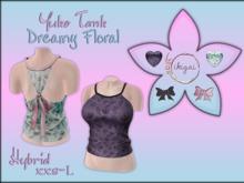 .:* ikigai *:.  Yuko Tank *Dreamy Floral* HYBRID