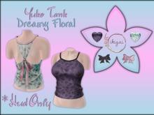 .:* ikigai *:.  Yuko Tank *Dreamy Floral* HUD ONLY