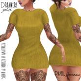Paper.Sparrow Dreamers Dress - Gold