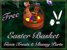 Easter Basket - Gives Gifts On Touch