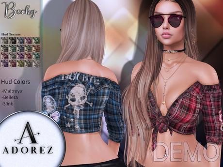 AdoreZ-Becky Top  DEMO