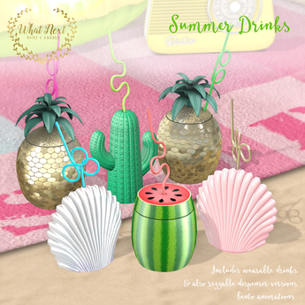 {what next} Summer Drinks