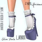 Paper.Sparrow Alice Heels - Lavender