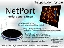 NetPort Teleportation System - Professional Edition - Network Teleporter System