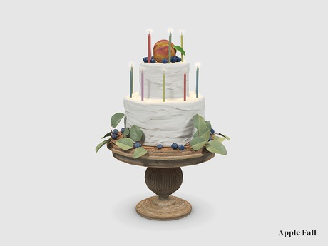 Apple Fall SL15B Cake