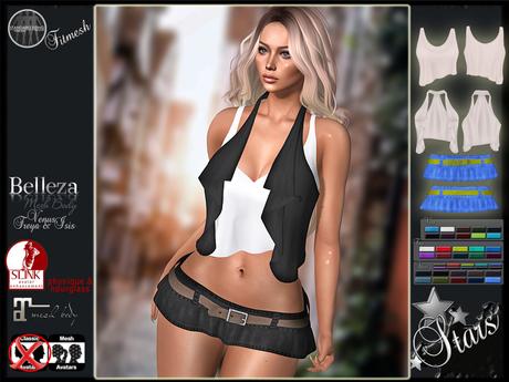 Second Life Marketplace Stars Maitreya Clothes Slink Belleza