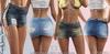 Candy Female Jeans Fatpack Skirt - MESH - Maitreya Lara, Slink Hourglass, Belleza Freya