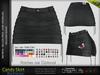 Candy Female BLACK Skirt - MESH - Maitreya Lara, Slink Hourglass, Belleza FreyaBl