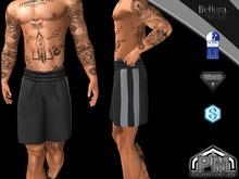 [PM] Shorts Hads Black