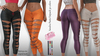 Sandra EXCLUSIVE Female Pants Mesh- MAITREYA LARA - FATPACK 30 Color HUD CB collection