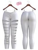 Sandra EXCLUSIVE Female  Pants Mesh- MAITREYA LARA - White Color CB collection