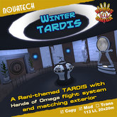 Winter TARDIS - Hands of Omega (HoO) Console