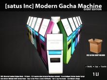 [satus Inc] Modern Gacha Machine - Event Edition