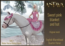 :: ANTAYA :: WHRH Sweet pink blanket and hat