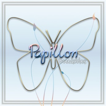 {Papillon} [Boxed] 6-Month Bird-Accessory Pair