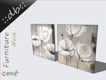 ::db:: Canvas Picture Decoratve Flowers