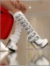 Harness boots white mp