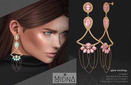 MIDNA - Earring Gisa