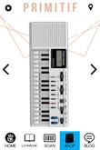 LeP - Portable_Keyboard - White