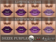 Az... Dezze Purple Lipstick (CATWA APPLIER)