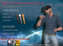 VISTA ANIMATIONS-BENTO SING MICRO MALE-V1BOXS