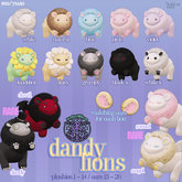 darkendStare. dandy lions [black x]