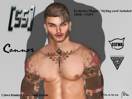 Second Life Marketplace Stormcrow Store Connor Bento Male