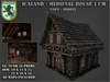 Icaland - Medieval House 1 CM