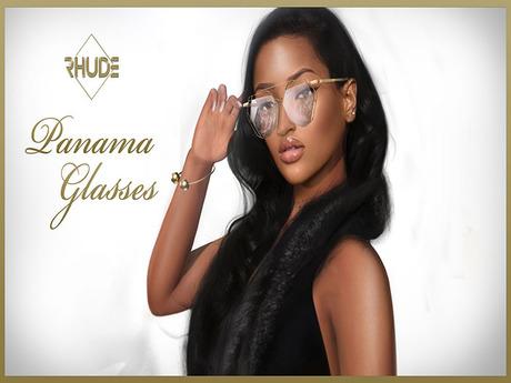 [RHUDE] Panama Glasses FPB