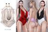 Tachinni - Alexa Bodysuit - Cream - Maitreya / Belleza / Slink