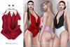 Tachinni - Alexa Bodysuit - Magenta - Maitreya / Belleza / Slink