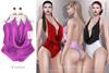 Tachinni - Alexa Bodysuit - Violet - Maitreya / Belleza / Slink
