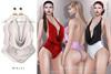 Tachinni - Alexa Bodysuit - White - Maitreya / Belleza / Slink