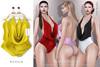 Tachinni - Alexa Bodysuit - Yellow - Maitreya / Belleza / Slink